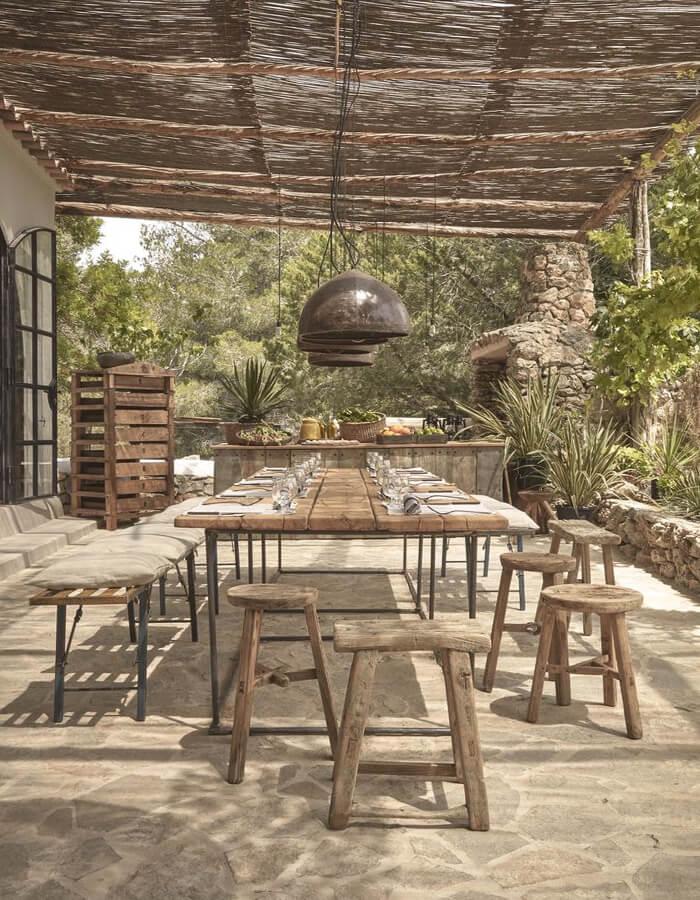 veranda sostenibile e materiali di riciclo - outdoor