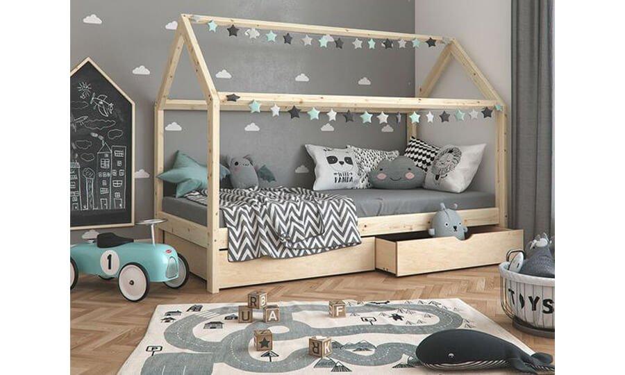 tappeto e area giochi - camera bimbi