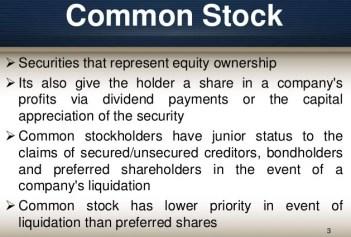 Common Stock and Preferred Stock