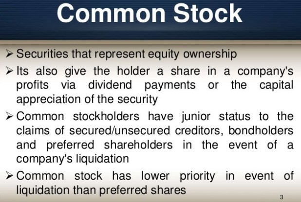 Common Stock and Preferred Stock