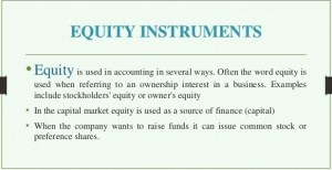 Components of Stockholders Equity