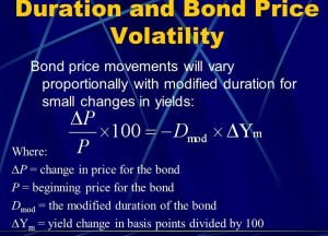 Discuss on Bond Duration and Bond Volatility with Example
