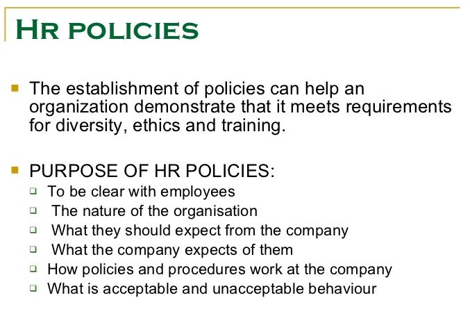 role of ethics in human resource