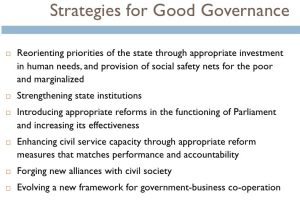 Good Governance