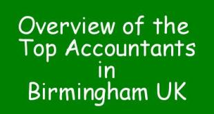 Overview of the Top Accountants in Birmingham UK