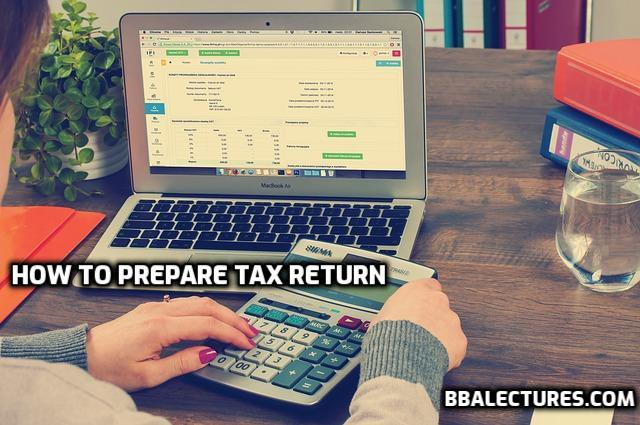 how to prepare tax return