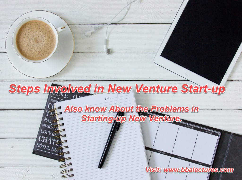 What are the Seven Steps in New Venture Start-Up