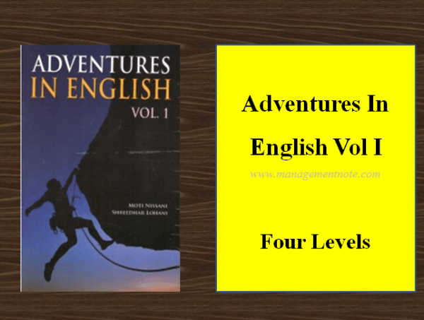 Adventures In English Vol I – Four Levels | BBA Notes