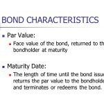 Characteristics of Bonds| Finance