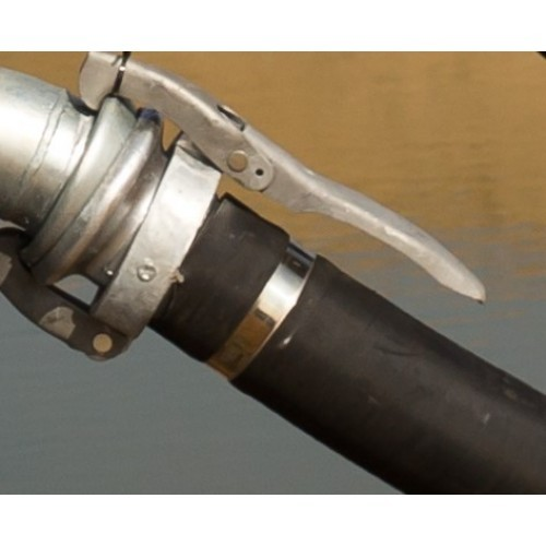 """4"""" inch hose clamps  BBA Pumps"""
