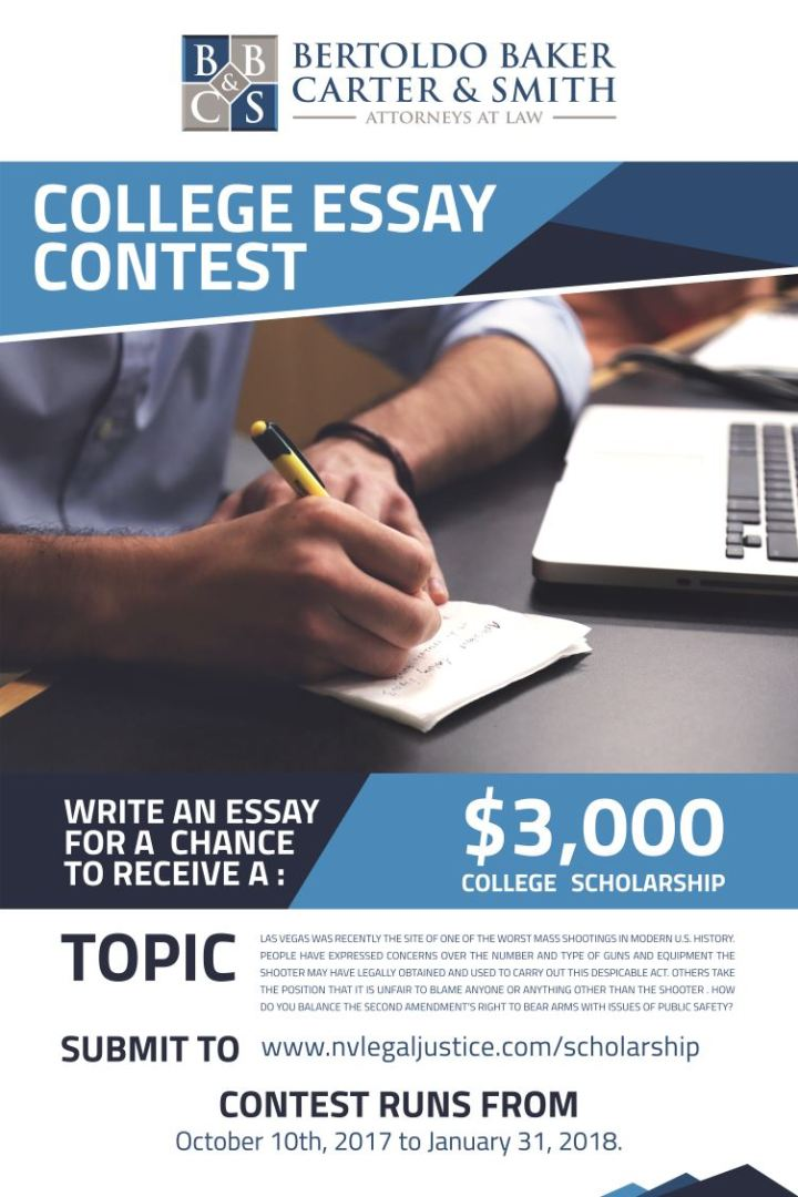 college scholarship essay contests 2011 Students can find and enter scholarship contests and sweepstakes to win money and help pay for college view our list of scholarship contests and enter today.