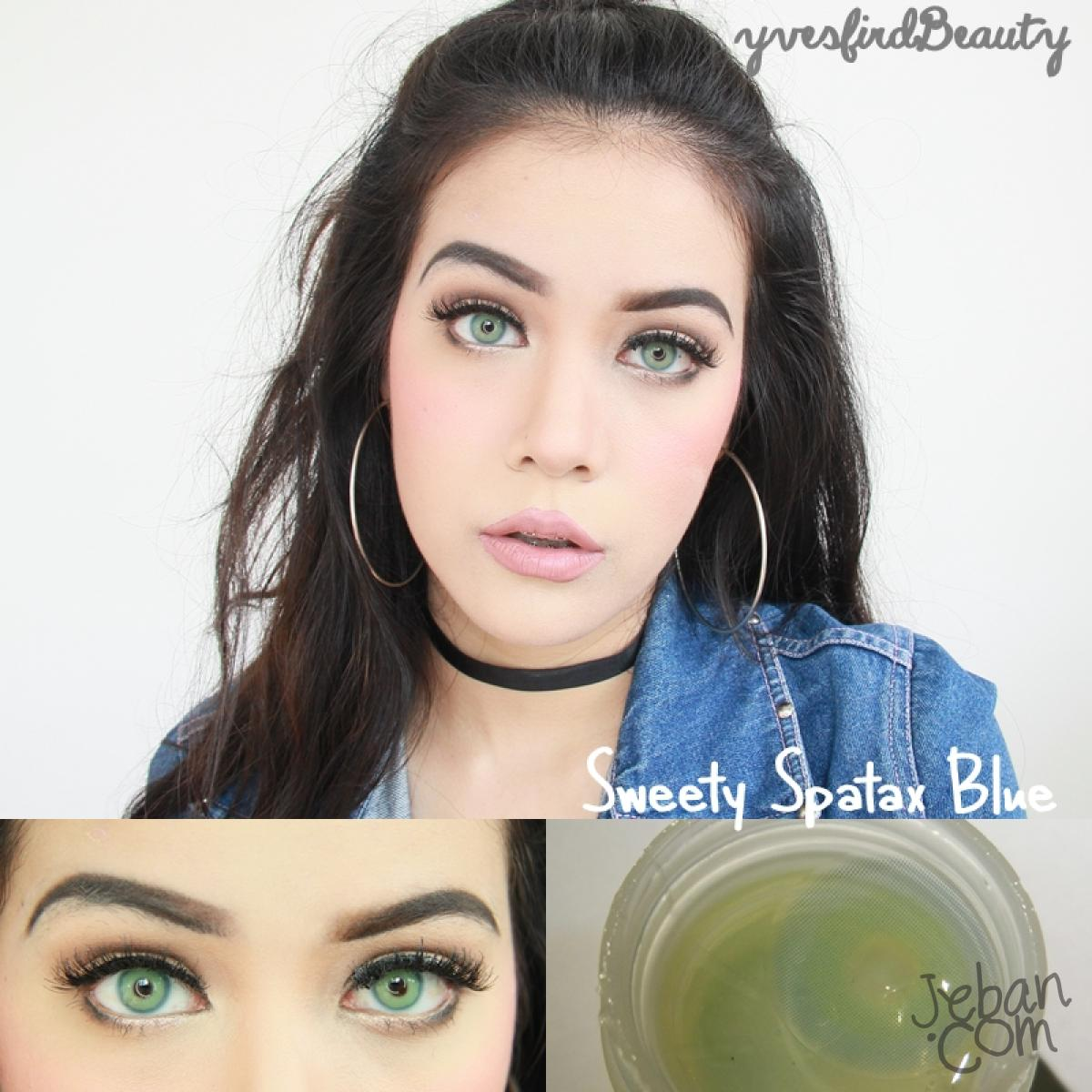 Sweety Spatax Blue Colored Eye Lenses Bbbeautycontact