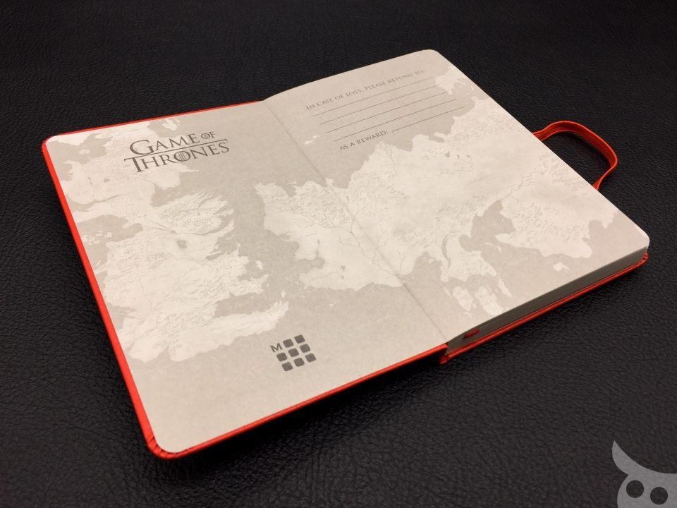 Moleskine Game of Thrones 2016-08