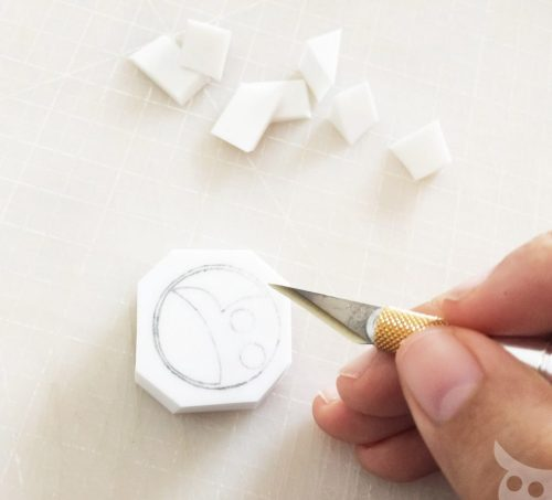Rubber Stamp-Step 4a