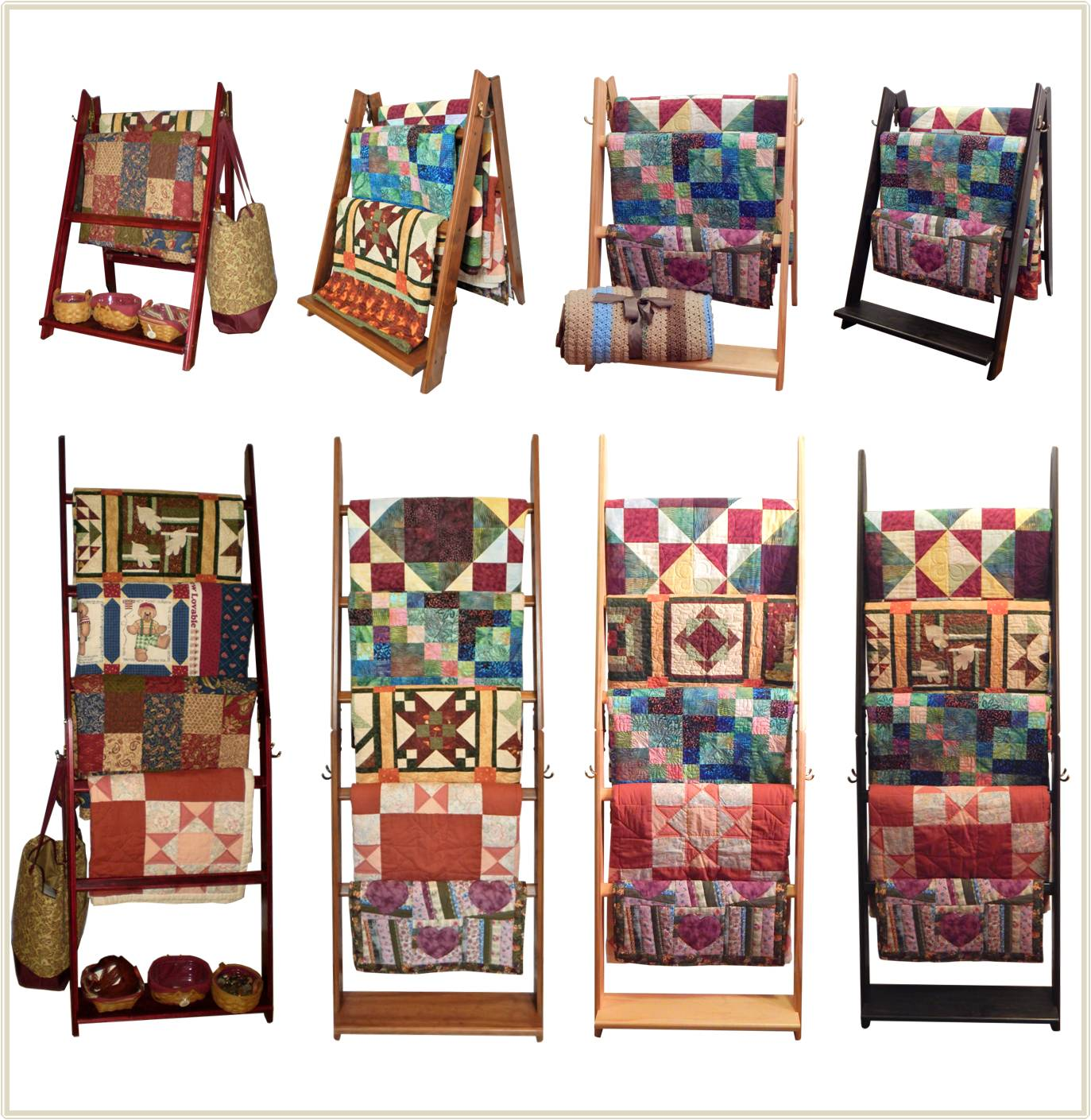 Quilt Display Racks Pictures to Pin on Pinterest