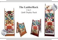LadderRack Quilt Display Racks