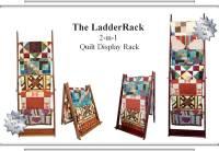 LadderRack Quilt Display Racks