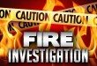 Fire South of the River Tuesday took several Firefighters to Extinguish
