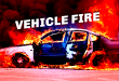 EMERGENCY CREWS RESPOND TO VEHICLE FIRE IN ROCKWOOD