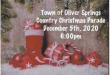Oliver Springs Christmas Parade