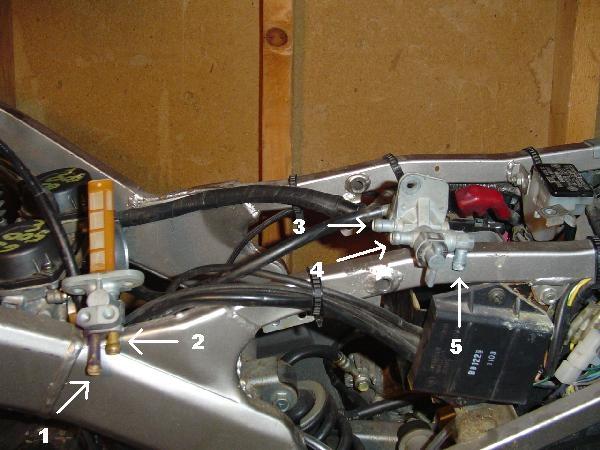suzuki bandit 1200 wiring diagram e38 fuel hose routing on a gs500e