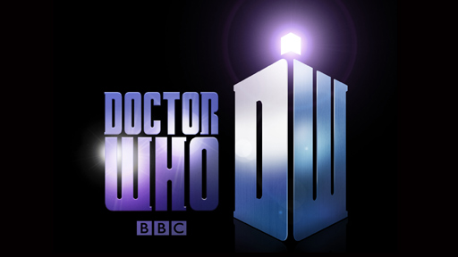 The new Doctor Who logo, 2009