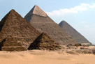 image of the pyramids at Giza