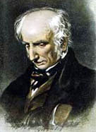 Portrait of William Wordsworth appearing to be deep in thought