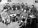 Photograph showing a group of peacetime conscripts