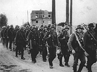 German army marches into Warsaw