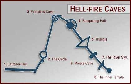Map of the Hell-Fire Caves