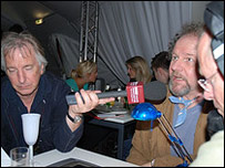 Alan Rickman and Mike Figgis