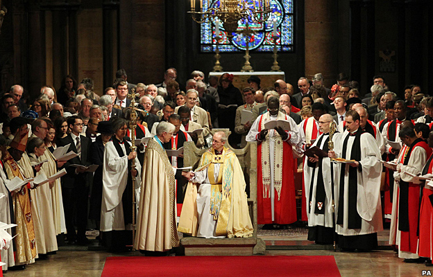 Enthronement of the Archbishop of Canterbury