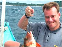 Steven Davis in 2001