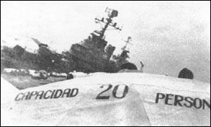 General Belgrano - Primeira Baixa Argentina?