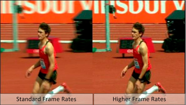 Higher Frame Rate Television at the 2014 Commonwealth