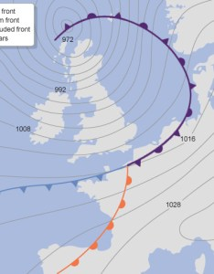Weather map of the uk also sail cork rh sailcork