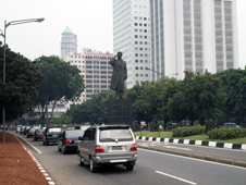 Statue of Great General Sudirman in Jakarta