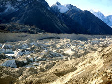 The Khumbu Glacier, Nepal