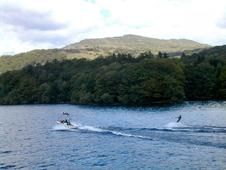 Water skiing on Windermere