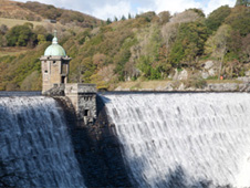 Pen-Y-Garreg reservoir, Elan Valley