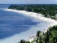 A beach in Bali, Indonesia