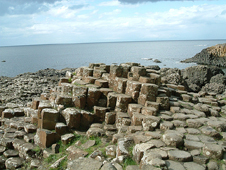Basalt colums in the Giant's Causeway