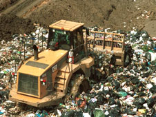 A landfill site in Essex