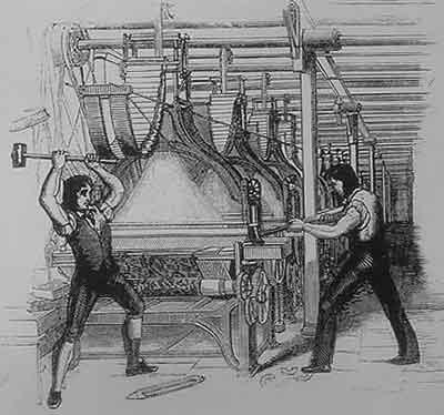 19ος αιώνας, βιομηχανοποιημένη εργασία.