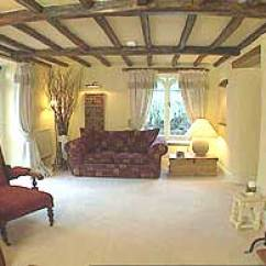 Country Living Rooms Uk Room With Burgundy Sofa Bbc - Homes Design Inspiration Cream Cottage ...