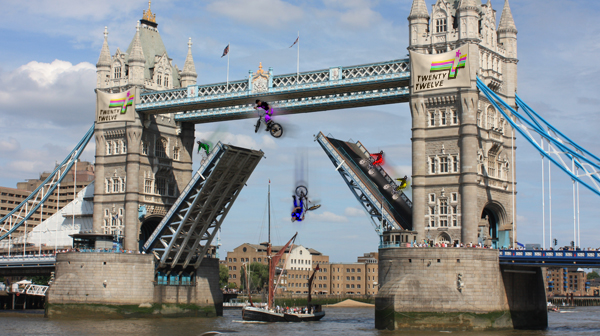 BBC  BBC Comedy Blog Twenty Twelve London landmarks as