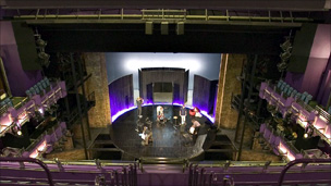 The RST's old proscenium arch