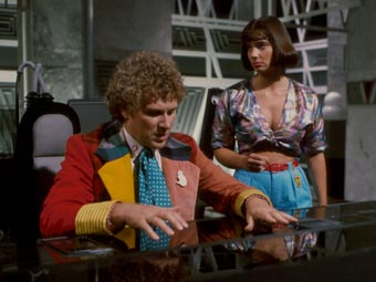 Der sechste Doctor und Peri