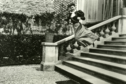 Bichonnade Leaping by Jaques-Henri Lartigue